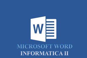 Word II – AVANZADO