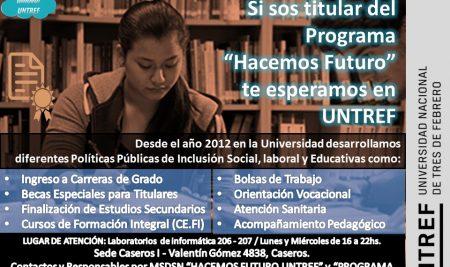 """Informe de sistematización: """"VAMOS A LA UNIVERSIDAD"""""""