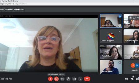 Visita de la Dra. Mariana Maggio a la Cátedra de TIC en Educación, de las Licenciatura en Ciencias de la Educación y Gestión Educativa de la UNTREF
